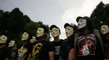 Anonymous Is Getting Serious About The News Business | Anonymous:Freedom Fighters or Cyber-Terrorists? | Scoop.it
