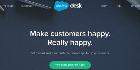 Salesforce Desk.com devient multilingue - Relation Client Magazine | Services for Digital People | Scoop.it