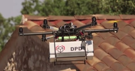 Delivery by drone: French postal video shows it can be done | Jeff John Roberts | GigaOM Tech News | New Media Narratives | Scoop.it