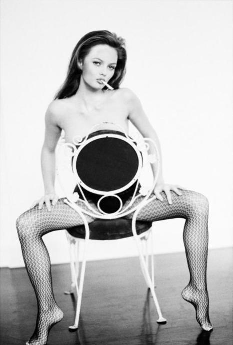 Ellen Von Unwerth Vanessa Paradis on the chair | Exposition photos | Scoop.it