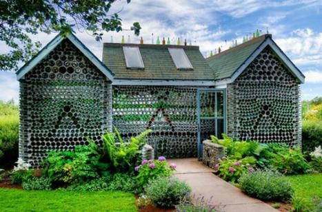 16 maisons entièrement construites à partir de matériaux recyclés   Dans l'actu   Doc' ESTP   Scoop.it