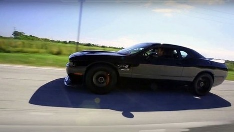 Finally the 805HP 2015 Dodge Challenger Hellcat X TEST DRIVE | Muscle Cars of America | Scoop.it