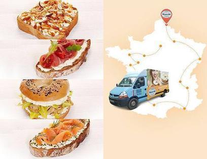 Philadelphia part en tournée en food truck | Communication Agroalimentaire | Scoop.it