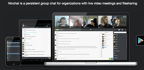 Create Persistent Collaboration Rooms To Chat & Videoconference with Ninchat | Wepyirang | Scoop.it