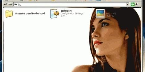 How to Set Background Image or Wallpaper in USB Pen Drive? | Ninja PC Tips | Scoop.it