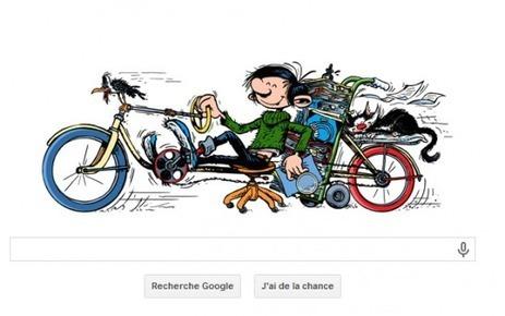 Google fête les 57 ans de Gaston Lagaffe ! | Culture à la ferme | Scoop.it
