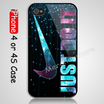 New Just Do It Sparkle Custom iPhone 4 or 4S Case Cover | Merchanstore - Accessories on ArtFire | Custom iPhone 4 or 4S Case Cover | Scoop.it