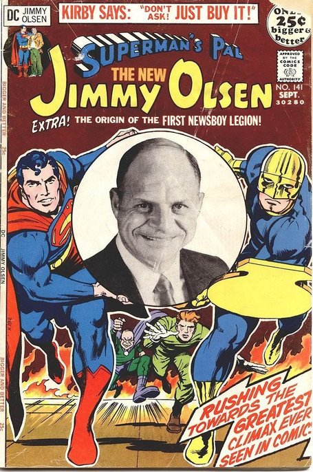 comicbookcovers: Superman's Pal, Jimmy Olsen... | Jack Kirby | Scoop.it