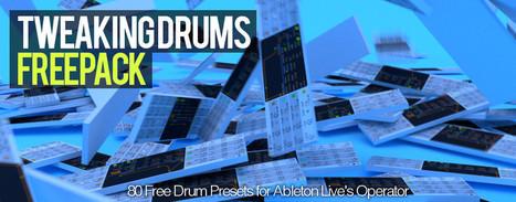Free Ableton Live Pack - TweakingDrums | Music | Scoop.it