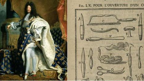 Il y a trois siècles, Louis XIV était embaumé - Le Figaro | Généalogie | Scoop.it