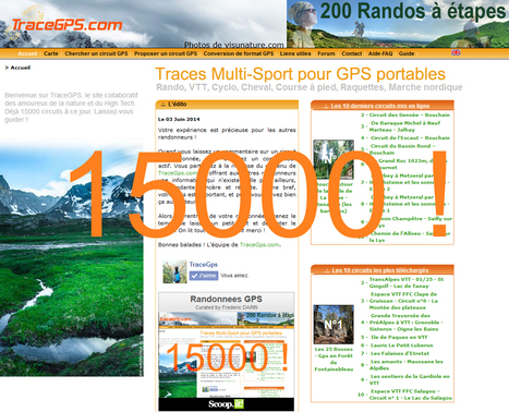 Merci !   Randonnees GPS   Scoop.it