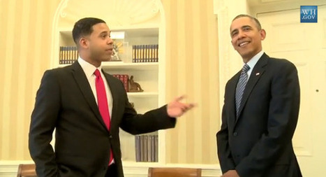 Obama impressionist meets real guy | itsyourbiz | Scoop.it