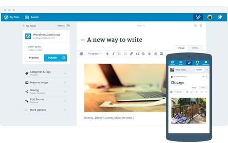 WordPress introduit un nouvel éditeur d'articles | Les outils du Web 2.0 | Scoop.it