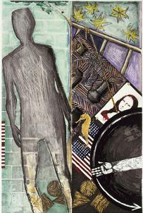 Jasper Johns 6 Decade Phillips Collection Print Survey Closes   Jasper Johns   Scoop.it