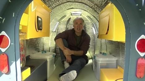 Cet homme dit qu'il vit dans ce petit camping-car. | Ca m'interpelle... | Scoop.it