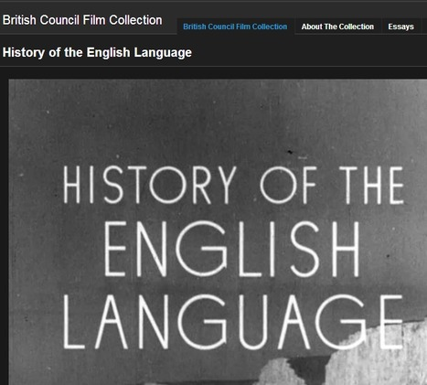 British Council Film: History of the English Language | English Language Teaching resources | Scoop.it