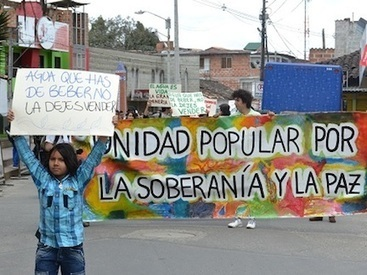 Social Movement in Colombia Rises Up in Defense of Water - Axis of Logic | ecologia 2013 | Scoop.it