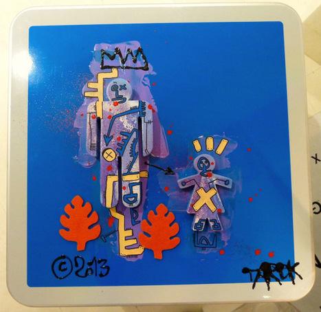 Panneaux customisés disponibles à la galerie P. Gelot | Tarek artwork | Scoop.it