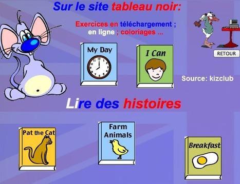 Lire des histoires : Tableau noir | Moodle and Web 2.0 | Scoop.it