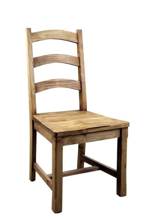 Vivere Pine Dining Chair   Rustic Pine Furniture   Scoop.it