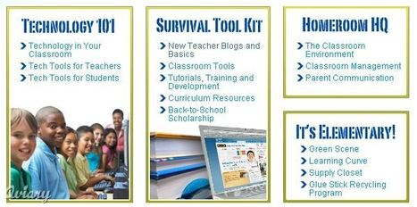 Educational Technology Guy: New Teacher Survival Central | The 21st Century | Scoop.it