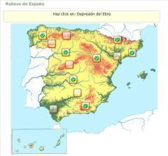 Relieve de España en juego interactivo (Educaplay) - Didactalia: material educativo | Tic, Tac... y un poquito más | Scoop.it