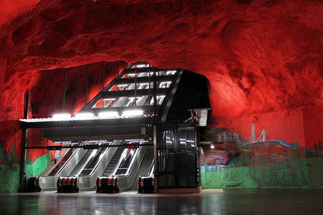Art gallery or subway? – Stockholm subway system is the world's biggest underground art gallery | ART worth watching | Scoop.it