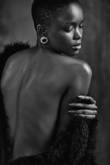 Black & White Beauty: Flaviana Matata Stuns In Shoot For The Glamourai ... - Global Grind | True Photography | Scoop.it