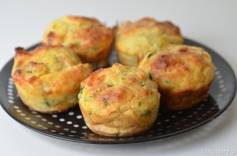 » Muffin salati alle verdure - Ricetta Muffin salati alle verdure - Ricetta di Misya | Ricette & Cucina | Scoop.it