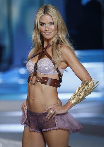 Heidi Klum retiring from lingerie runway | Lingerie Love | Scoop.it