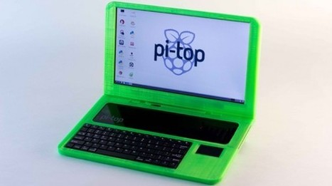 Pi-Top, a 3D-printed DIY Raspberry Pi laptop kit | Chips | Geek.com | Things and more things | Scoop.it