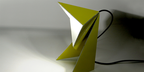 Lampe de Bureau Origami | Paper is beautiful | Scoop.it