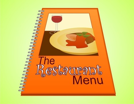 How to Make a Restaurant Menu | My Project | Scoop.it