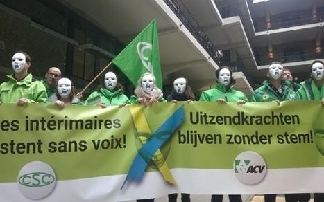 Werkgevers kelderen stemrecht voor uitzendkrachten bij sociale verkiezingen | WVS - Website voor Syndicalisten | Scoop.it