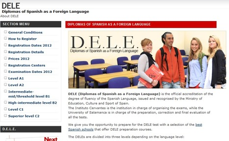DELE - Diplomas of Spanish as a Foreign Language | Improve your spanish with Octaedro ELE | Scoop.it