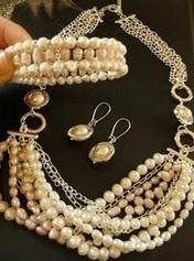 Beaded Wedding Jewelries | artisan jewelry | Scoop.it
