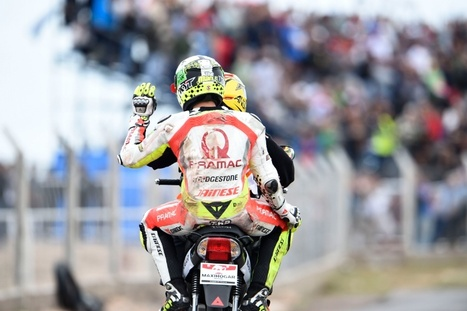 Iannone: Rear wheel locked at 300kph | Ductalk Ducati News | Scoop.it