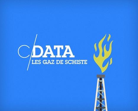 [C/Data] Les gaz de schiste | Datavisualisation & géopolitique | Scoop.it