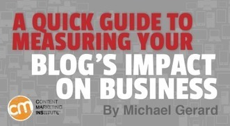 A Quick Guide to Measuring Your Blog's Impact on Business | Social Media, Marketing, Design ... | Scoop.it