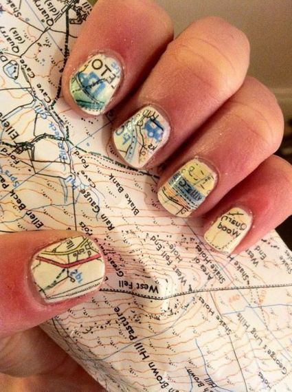 Cartographically Inspired Fashion | Geography Education | Scoop.it