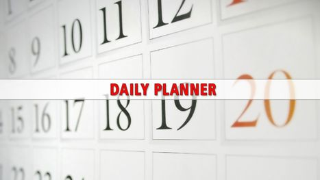Daily planner calendar for July 12 - Poughkeepsie Journal | Life, software, planner, organized! | Scoop.it