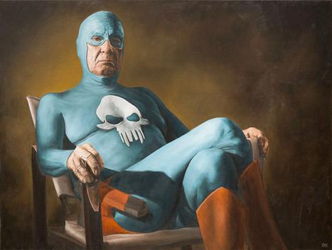 Il peint le quotidien difficile d'un Super-héros vieillissant | À toute berzingue… | Scoop.it