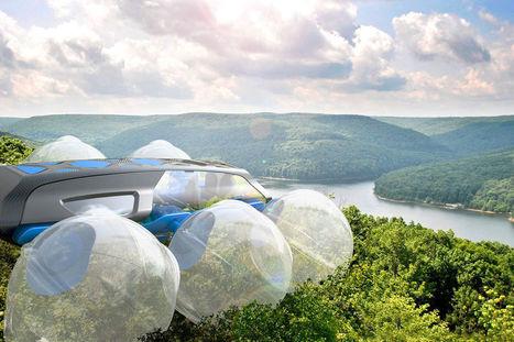 Canopi, un véhicule futuriste pour se déplacer sur les arbres | Innovation et technologie | Scoop.it
