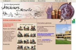 La Moselle met en ligne ses tables décennales | Histoire Familiale | Scoop.it