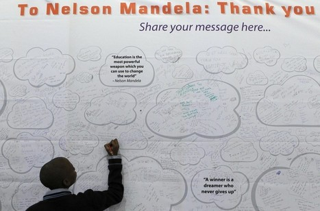 What Nelson Mandela had to say about leadership - Washington Post | Leadership at Work | Scoop.it