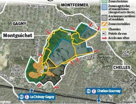 L'agriculture de retour au Montguichet - Le Parisien | environnement paysage biodiversité en SSD | Scoop.it