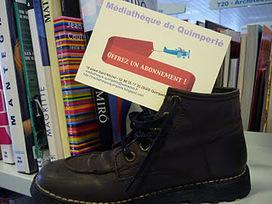 Médiathèque de Quimperlé: Offrez un abonnement à la médiathèque pour Noël   BiblioLivre   Scoop.it