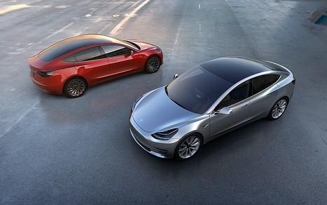 Tesla Model 3: la sfida alle berline è aperta   Motori e Buon Cibo   Scoop.it
