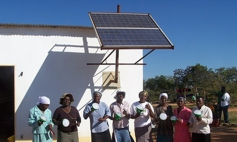 Solar is bringing a new world to women in Zimbabwe | Sustainable Futures | Scoop.it