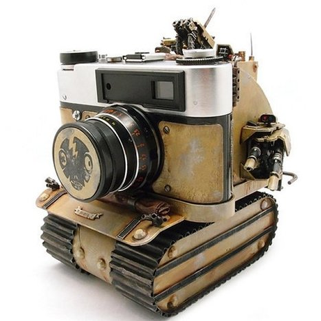 Make Art, Not War with the Soviet Rumble Tank Camera | All Geeks | Scoop.it